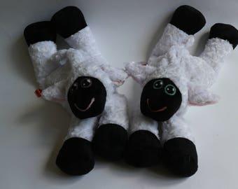 Plush Sheep Heating Pad - Petal and Reggie - READY TO SHIP