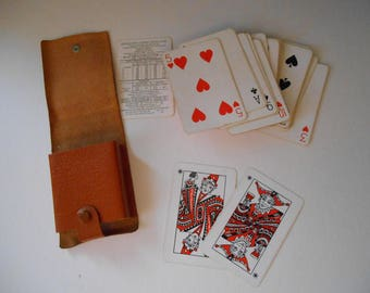 Vintage Playing Cards full deck 52 decorated vintage Cards Jersey Souvenir Playing Cards