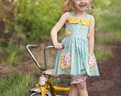 Ginger Dress AND Top PDF Pattern & Tutorial {Vintage Style} All Sizes 12m-10 years Included