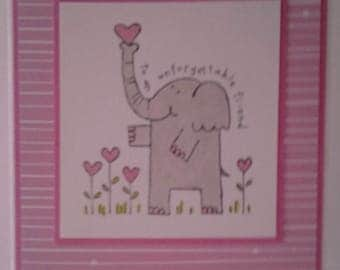 Special Friend Valentine Note Card