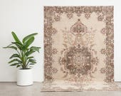 BARIS 6x9 Hand Knotted Turkish Wool Rug
