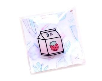 strawberry milk | BROOCH