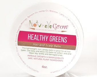 Healthy Greens Hair and Scalp Food