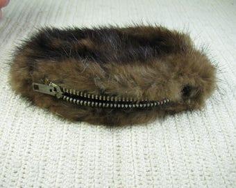 50's Mink coin purse
