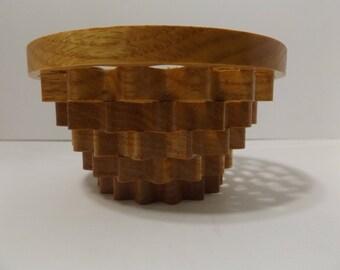 Oak Wobble Bowl