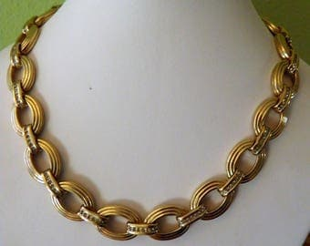 Signed Vintsge Panetta Necklace