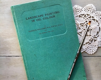 Landscape Painting in Oil Colour Art Artist Painter Illustrated Guide Book