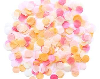 Jumbo Tissue Paper Confetti - Peach Sorbet