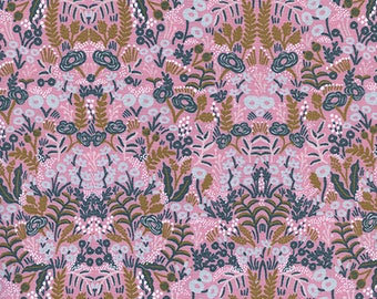 PRESALE - Menagerie - Tapestry in Violet - Anna Bond for Cotton + Steel - 8031-02 - 1/2 Yard