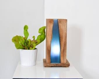christallo natural live edge walnut elm or oak and glass. Black Bedroom Furniture Sets. Home Design Ideas