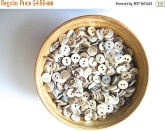 ON SALE 25% OFF Mother of pearl Mob buttons 9 mm button nr. 73 | 50 pieces