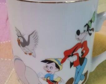 Vintage 60s/70s Walt Disney porcelain mug