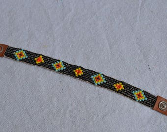 Vintage Native American Beaded Bracelet