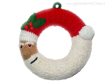 Door wreath, SANTA CLAUS ,