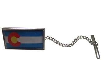 Colorado State Flag Tie Tack