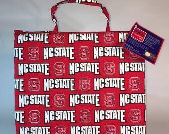 North Carolina State Seat Cushion-NC State Wolfpack Stadium Seat-Bleacher Cushion-Stadium Cushion