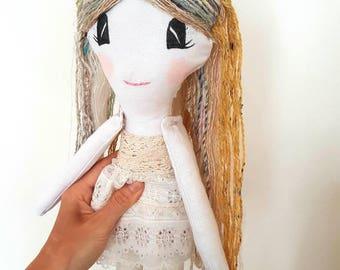 Millie the Cloth doll, Rag Doll Girl, Soft Toy, Ragdoll, Dolls for girls, Fabric Doll