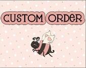 Custom Listing for Erin - 6 Large Whipped Body Butters (Custom Wedding Design)