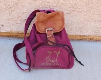 Small pochacco backpack anime