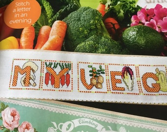 Gardeners' Alphabet - Cross Stitch Pattern Only