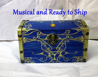 MUSICAL--The Big Boss Key Chest from Ocarina of Time, Legend of Zelda, Majora's Mask, Re-recordable Sound