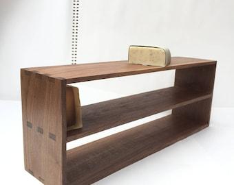 Soapshelf, soap shelf bathroom shelf, solid walnut wood