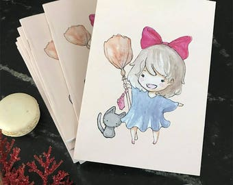 Kiki's Delivery Service A6 Notebook