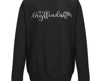 I'm A GRYFFINCLAW UNISEX JUMPER | Hogwarts Houses | Harry Potter Gift