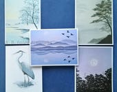 CUSTOM LISTING: Nature Art Note Cards - 25 pack