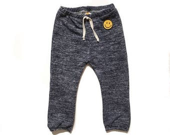 Happy Pants Classic Beach Sweats, Heathered Navy.