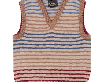 Children's alpaca jumper/sweater for boys, super soft & warm pullover, age 0 to 6 years, ethically made.