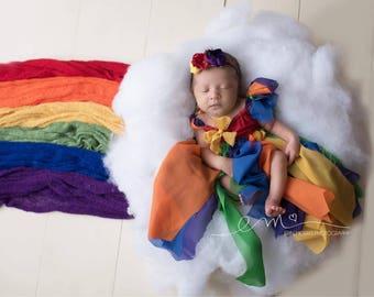 Rainbow baby photo prop, rainbow photo prop, newborn photo prop, newborn rainbow baby, rainbow baby, photography prop, newborn prop, newborn