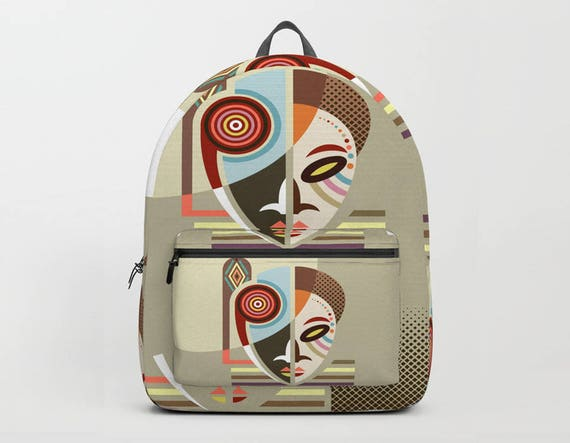 African Bag, African Mask, African Gifts Bags, African Gifts, African American Gifts, African Print, Back to School Gifts, African Design