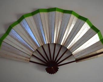 Dance fan, Japanese mai ogi, vintage Japanese maisen hand fan #5