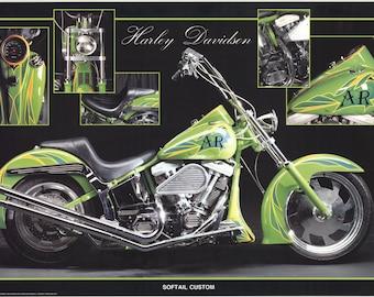 Maggi & Maggi-Harley Davidson-1995 Poster