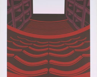 Perry King-Theatre Royal-1985 Serigraph