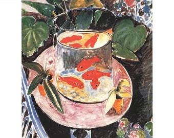 Henri Matisse-Goldfish-1997 Poster