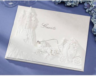 Wedding Guest Book Signature Book Fairy tale Wedding Guest Book Once Upon a Time Book