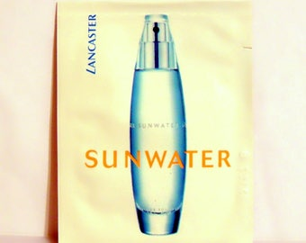 Vintage Sunwater by Lancaster Manufacturer's Perfume Sample Packette