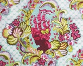 RESERVED for CHELSEA Tula Pink, Parisville, Cameo in Sky - 1 yard