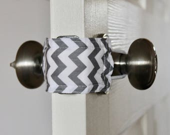 Latchy Catchy in Grey Chevron (Patented)