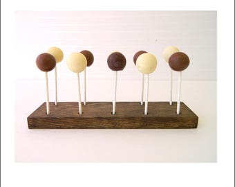 Cake Pop Stands + LolliPop Stands + Wood Pop Stand + Set of 3