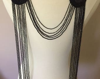 Vintage Bead Embellishment 1920's Dress