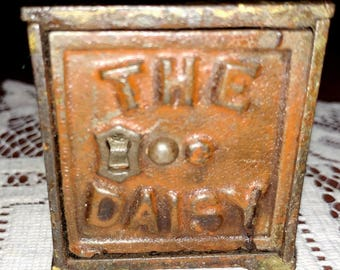 Antique Cast Iron The Daisy Bank by Shimer Toy Company