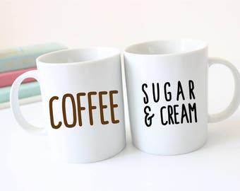 Coffee Mug - Sugar and Cream