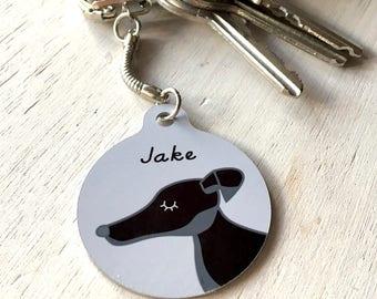 Personalised Dog Keyring - Pet Keychain
