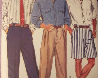 Butterick 3217, Men's Shirt, Shorts and Pants Sewing Pattern