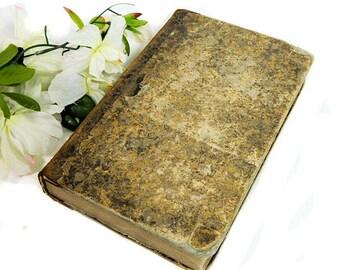 Antique French Book L'Echo des Feuilletons Short Stories Legends 1853