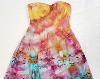 Funky Tie Dye Ladies Dress size 0