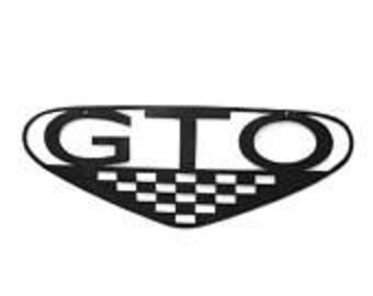Pontiac GTO, Car Enthusiast, Metal Sign, Outdoor Metal Wall Art, Garage Decor, Garage Sign, Driveway Sign, Workshop Sign, Dads Garage
